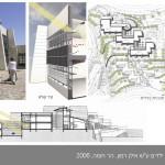 בית הספר על שם אילן רמון, ירושלים - תכנית כללית