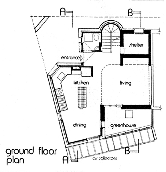Ground level plan