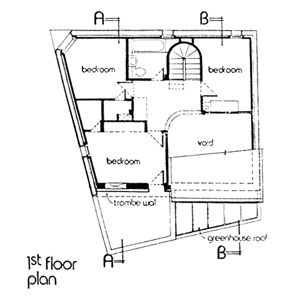 Bedroom level plan