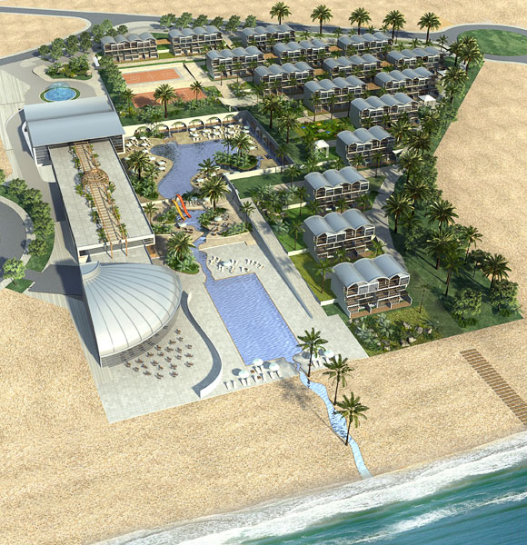 """Khan HaYam"", Holiday Village, Ashdod"