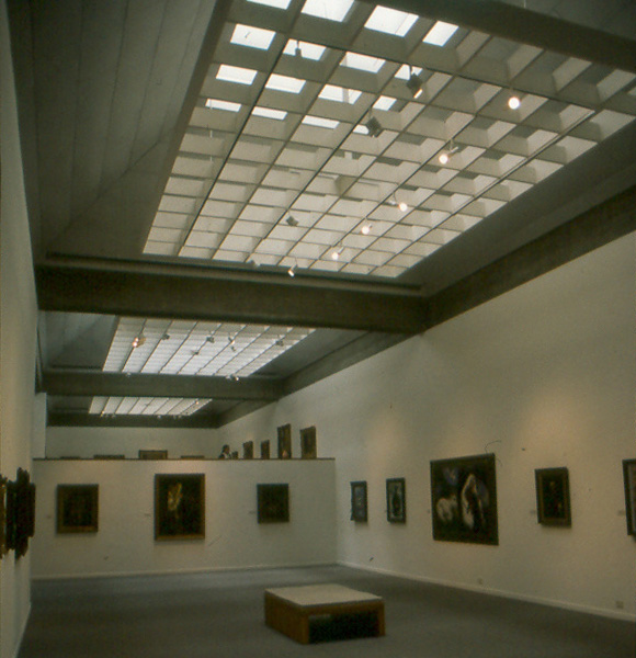 Exhibition space; daylighting detail
